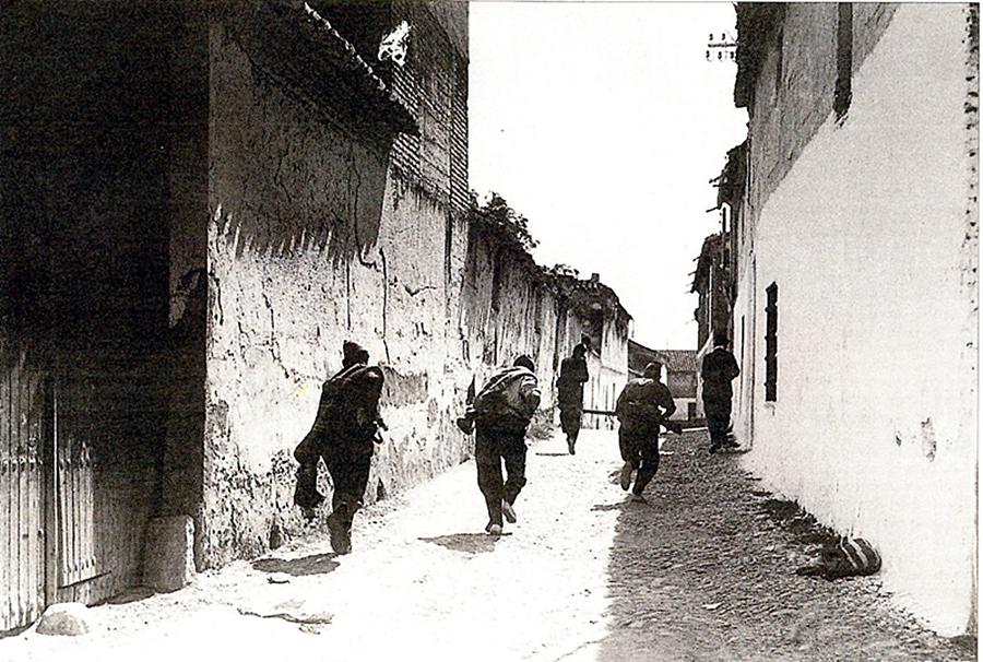 milicianos en Talavera