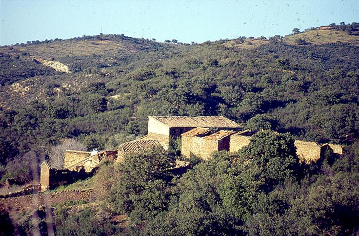 Balneario popular de la Retortilla en Aldeanueva de barbarroya, junto a la Vía Verde de la Jara