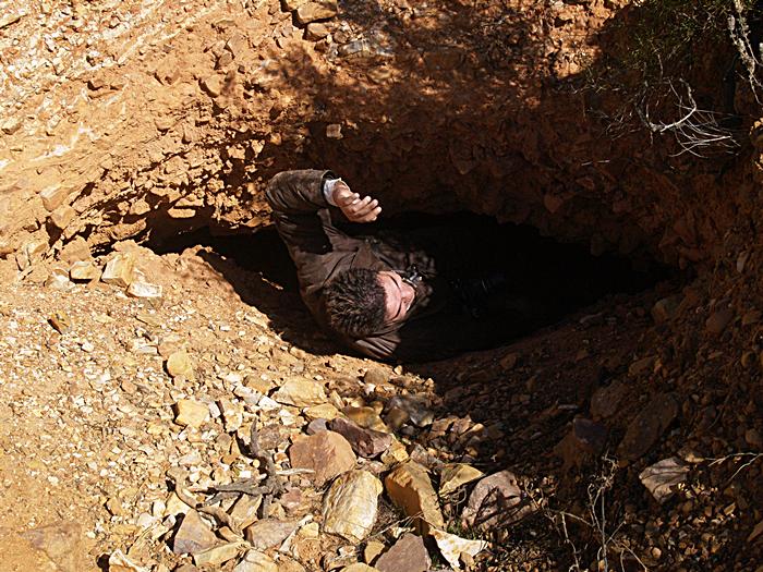 Bocamina de La Oriental. mina de oro de Sierra Jaeña
