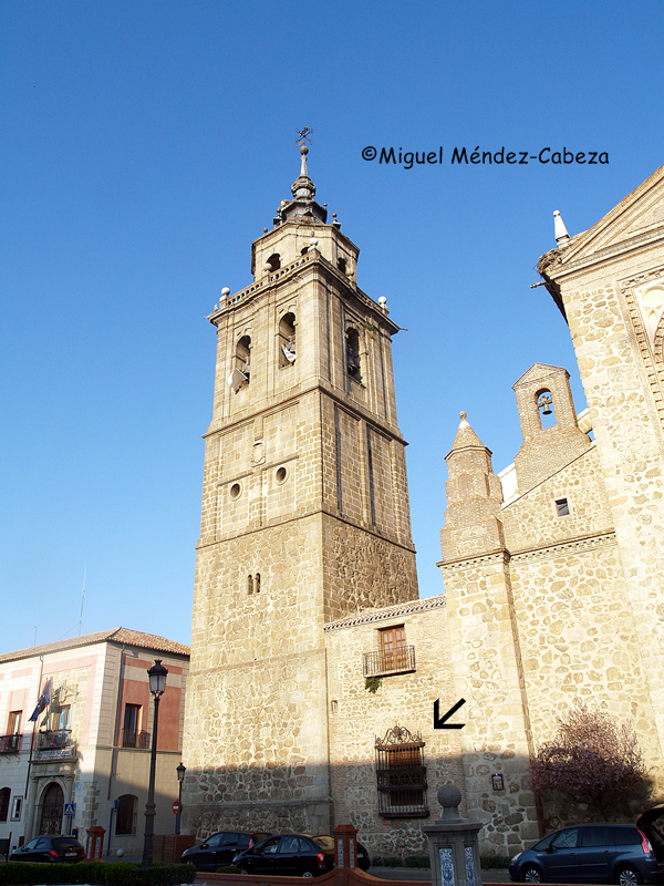 Colegial, capilla de San Sebastián, Talavera de la Reina, Arcipreste de Hita