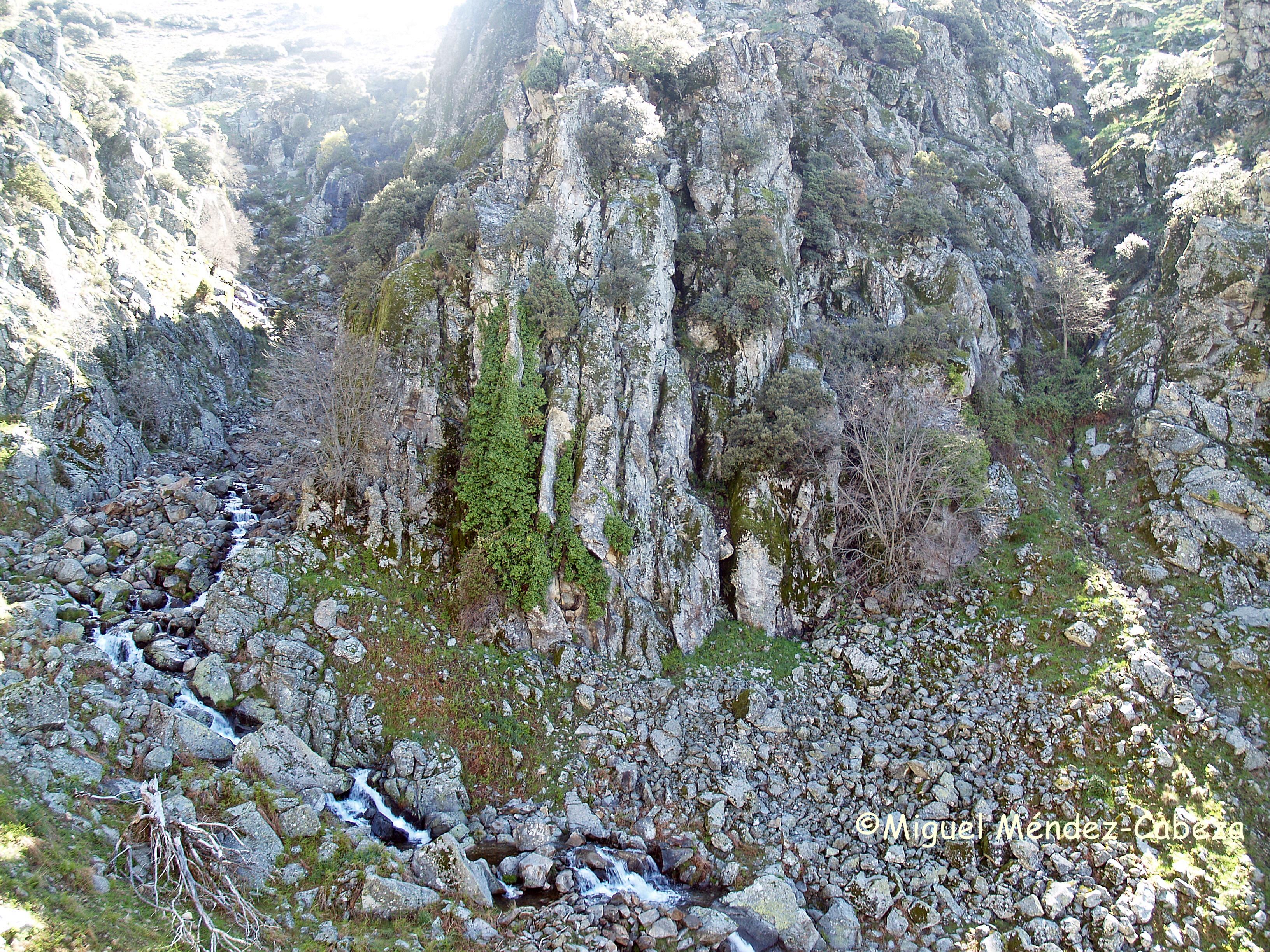 Gargante de las Chorreras en Cilla