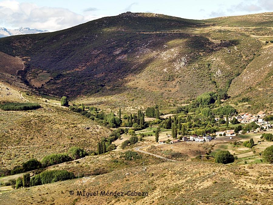 Navalsaúz, pueblo de Gredos donde nació Francisca Sánchez, mujer de Rubén darío