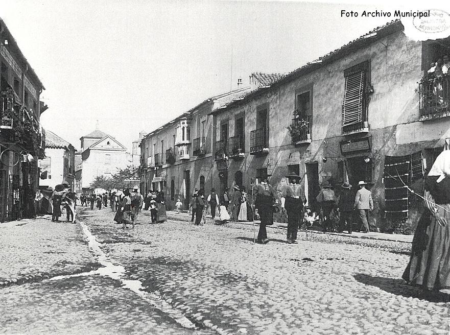 Calle San Francisco 1920