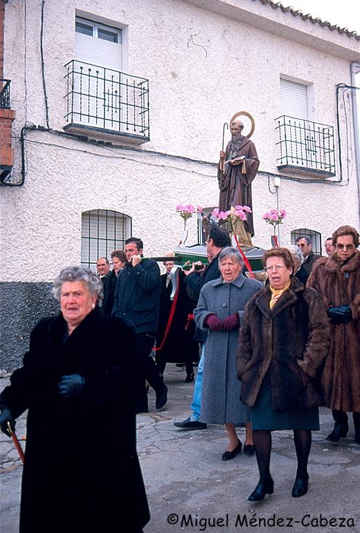 Procesión de San Antón en Navalmoralejo