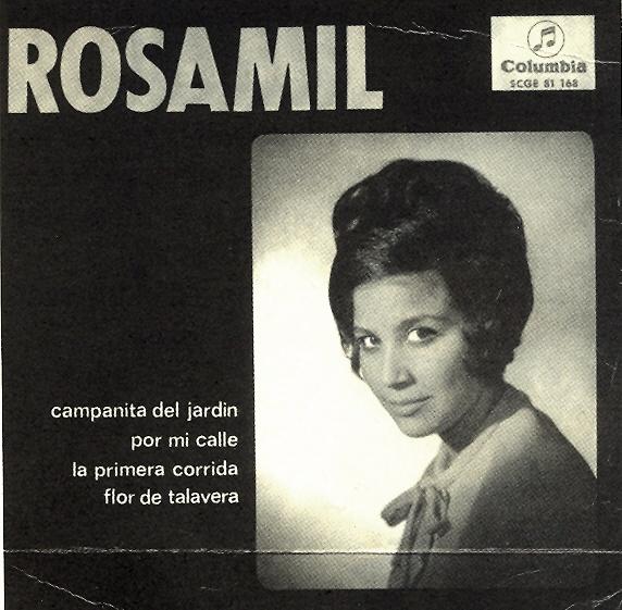 Portada de disco de Rosamil