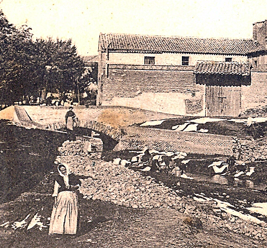 El puente Moris en una vista parcial de la foto de Ruiz de Luna