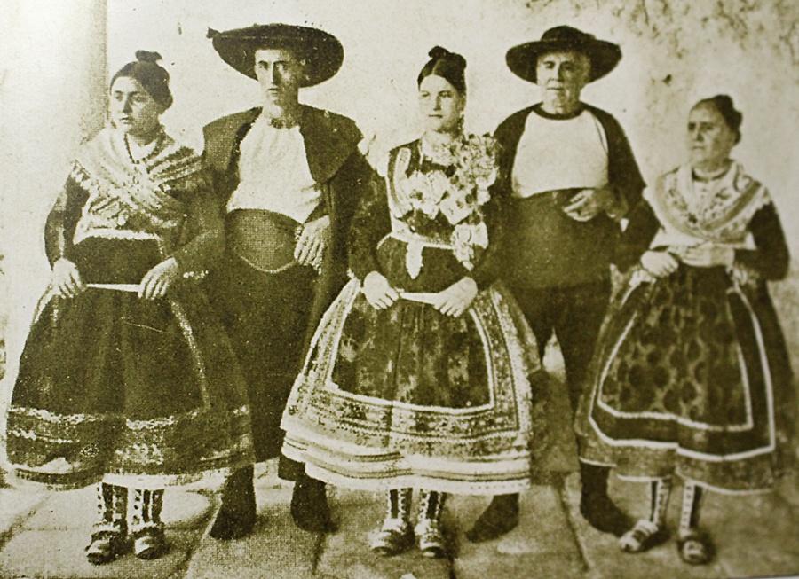 Foto de Ruiz de Luna de los tipos que pintó Sorolla