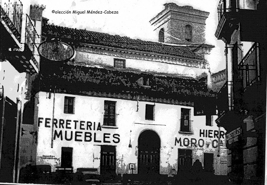 Iglesia de San Pedro convertida en almacén antes de su destrucción