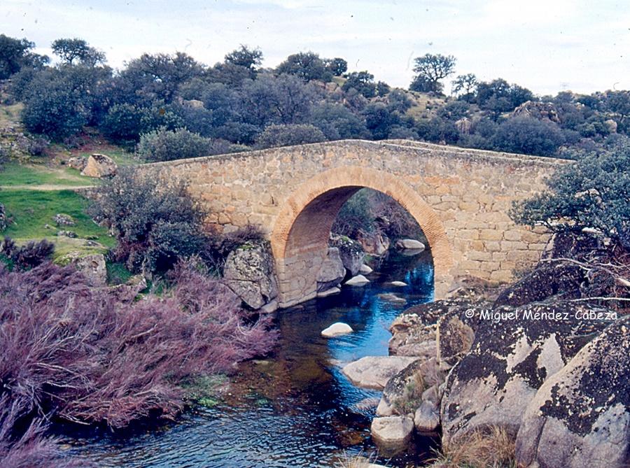 Puente antiguo en el camino viejo de Navalmoralejo