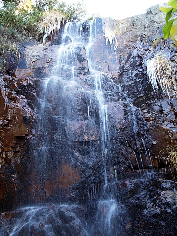 Cascadas en el arroyo de Las Lanchas en Las Hunfrías