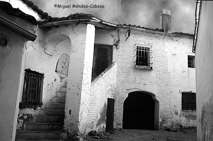 Casa del Tinte de la seda en el barrio de la Puerta de Cuartos