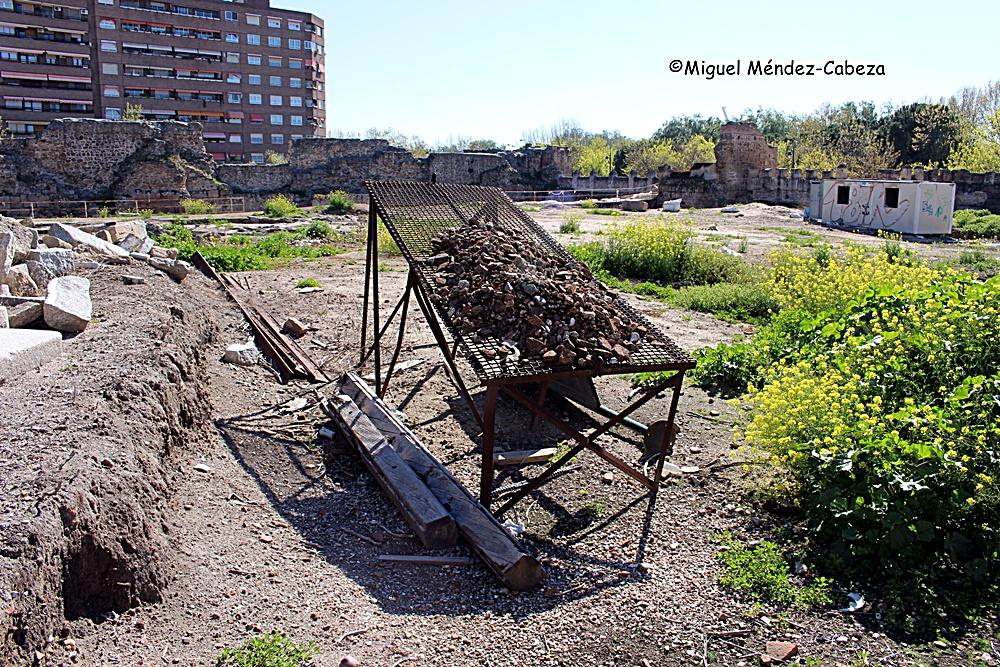 Así quedó para la eternidad la criba con los materiales últimos de las excavaciones ¿Podrán verlo igual nuestros biznietos?