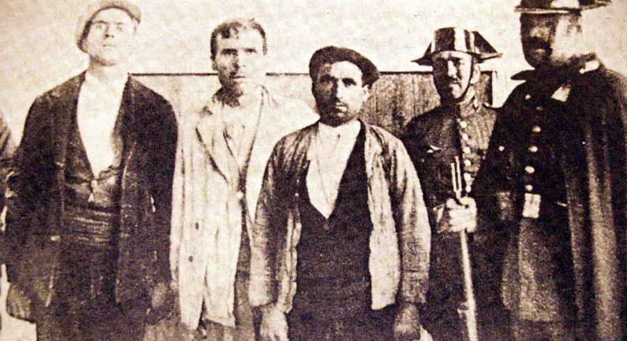Guerrilleros de la zona centro detenidos