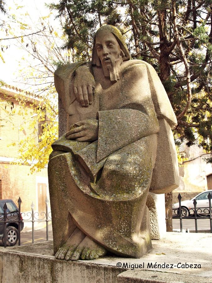 Monumento a Fernando de Rojas en La Puebla de Montalbán