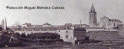 Detalle de la foto de Ruiz de Luna con la casa de la Hilanza