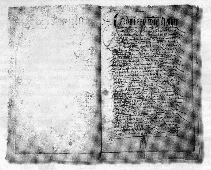 Testamento de Fernando de Rojas en poder de la familia Lerchundi