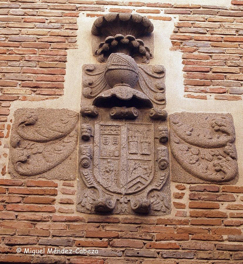 Blasón del palacio de la calle San sebastián
