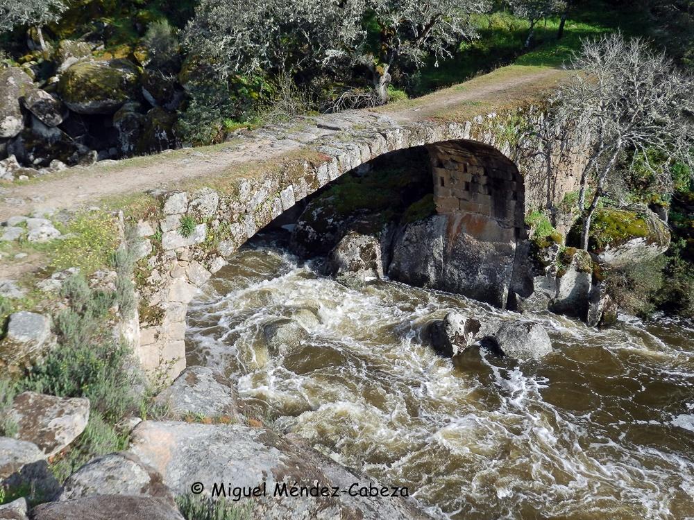 """Puente """"romano"""" de navalcán sobre el Guadyerbas"""