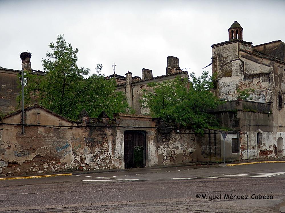 Fachada oeste del palacio de los marqueses de Velada