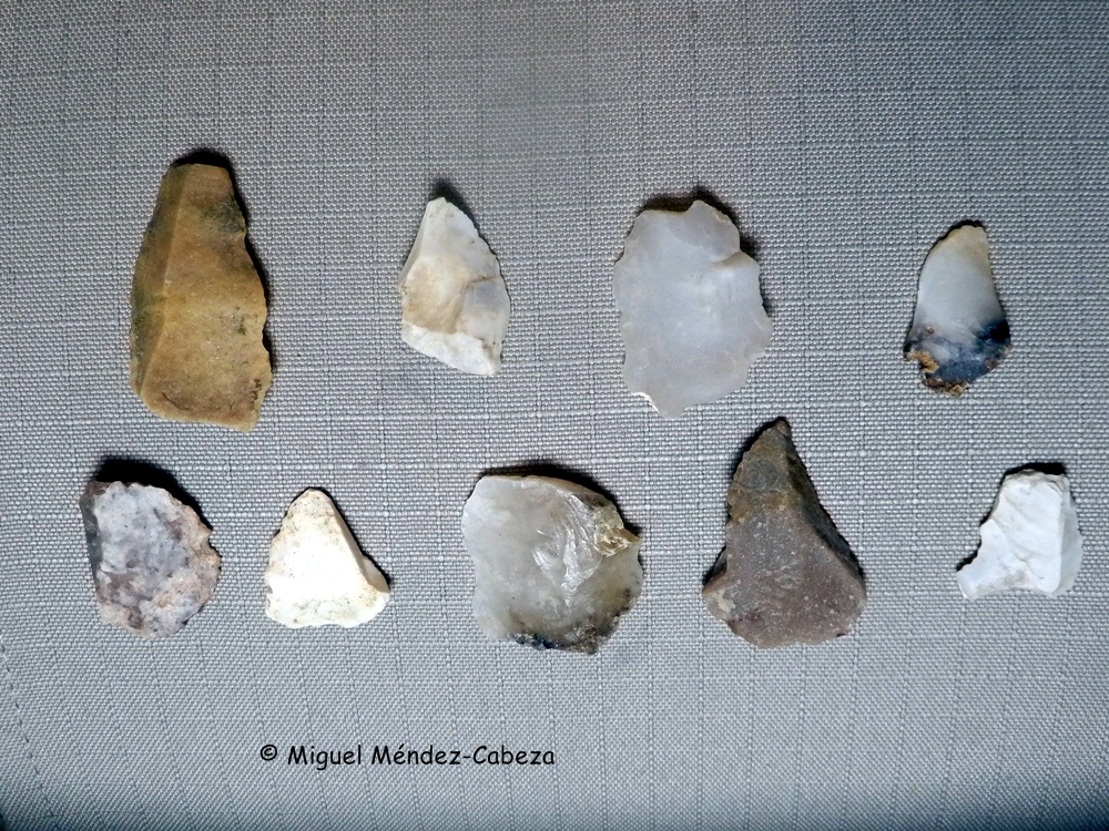 Industria paleolítica en sílex junto al arroyo Zarzoleja