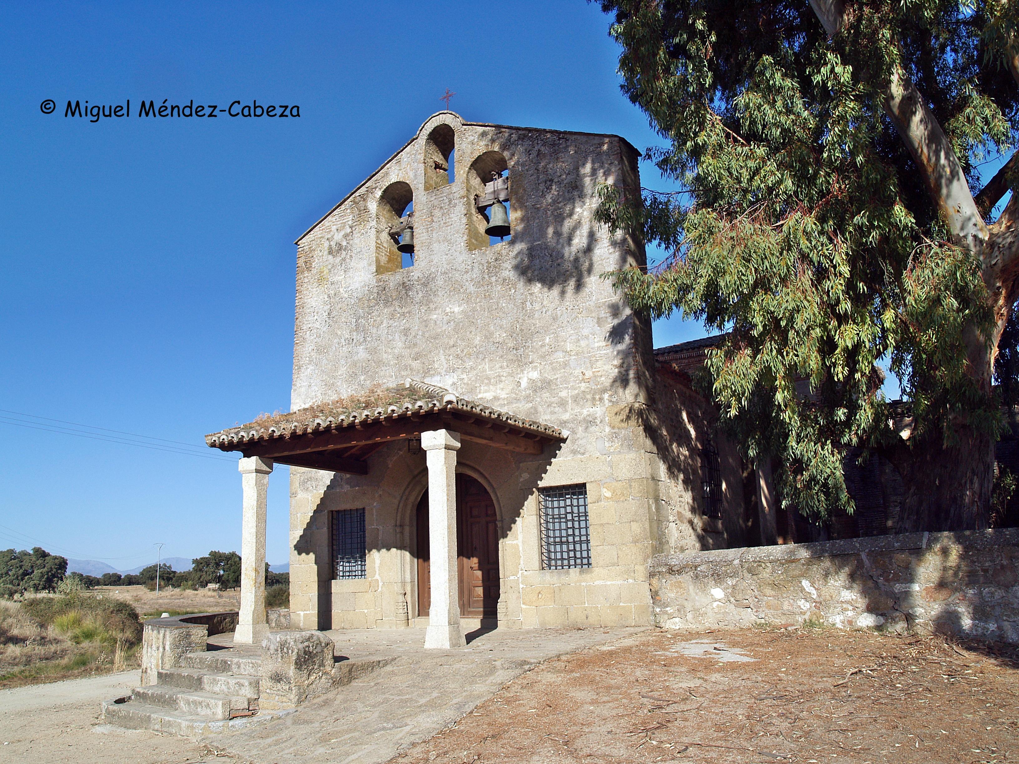 Iglesia del pueblo de los saludadores, La Corchuela de Oropesa