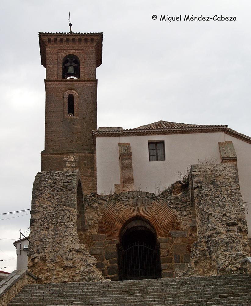 Iglesia parroquial de Maqueda