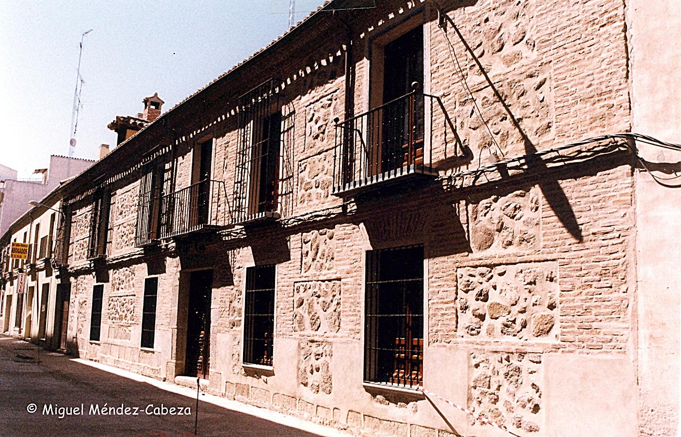 Casona llamada de los Pizarro en la calle Delgadillo