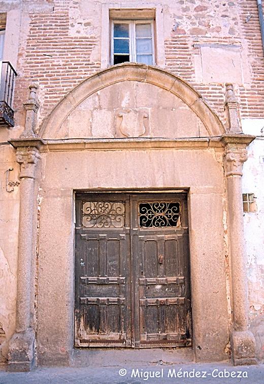 Palacio en la calle Gaspar Duque