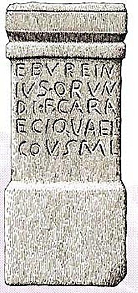 Ara dedicada al dios Vaélico, relacionado con ritos acuáticos. Hallada en Candelda