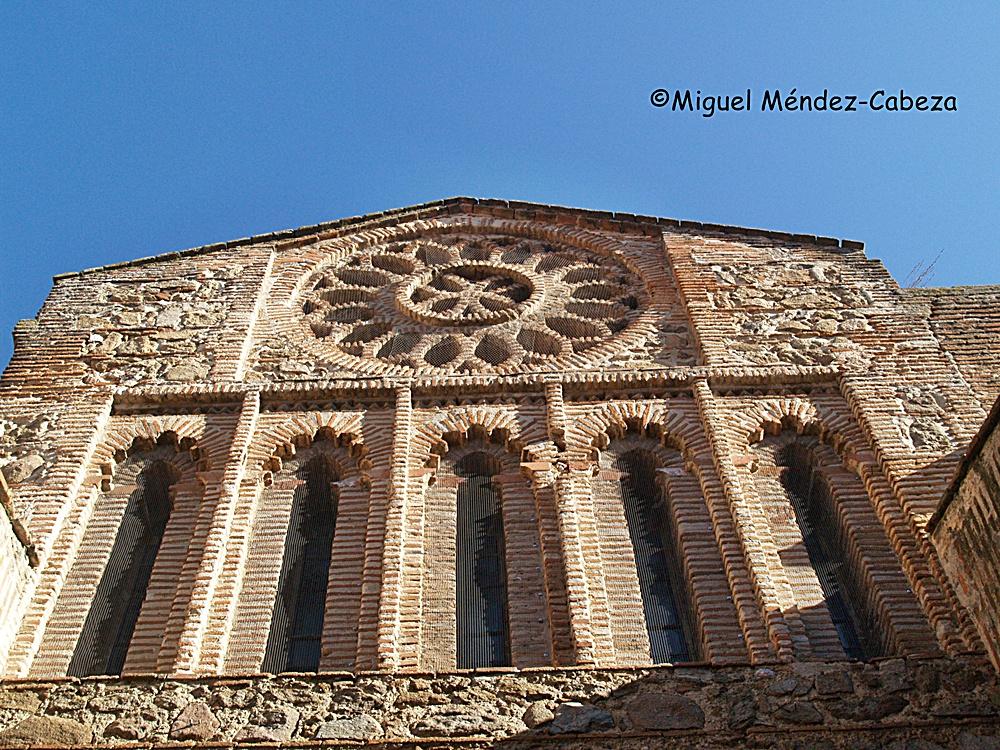 Rosetón mudéjar de la iglesia de Santiago