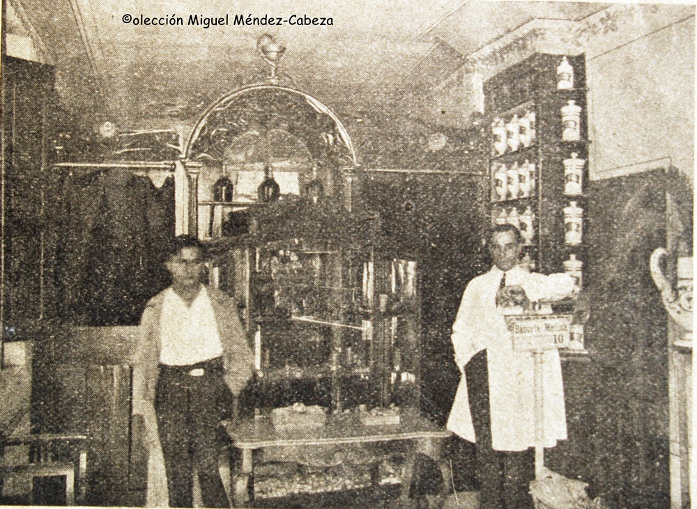Farmacia de don Abel en la Corredera