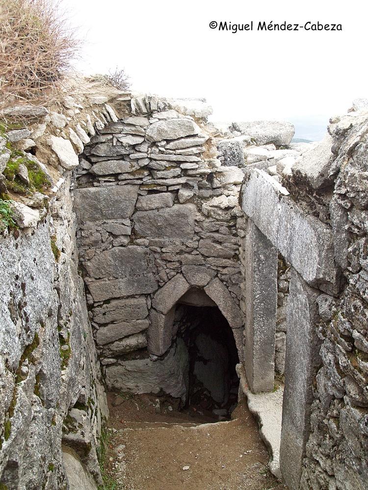 Cueva de los Santos Mártires en el Cerro de San Vicente o Monte de Venus