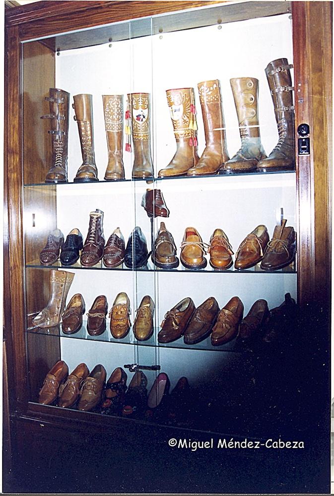 Calzado tradicional de casa Mazuecos