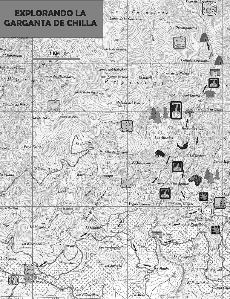 Plano de la excursión
