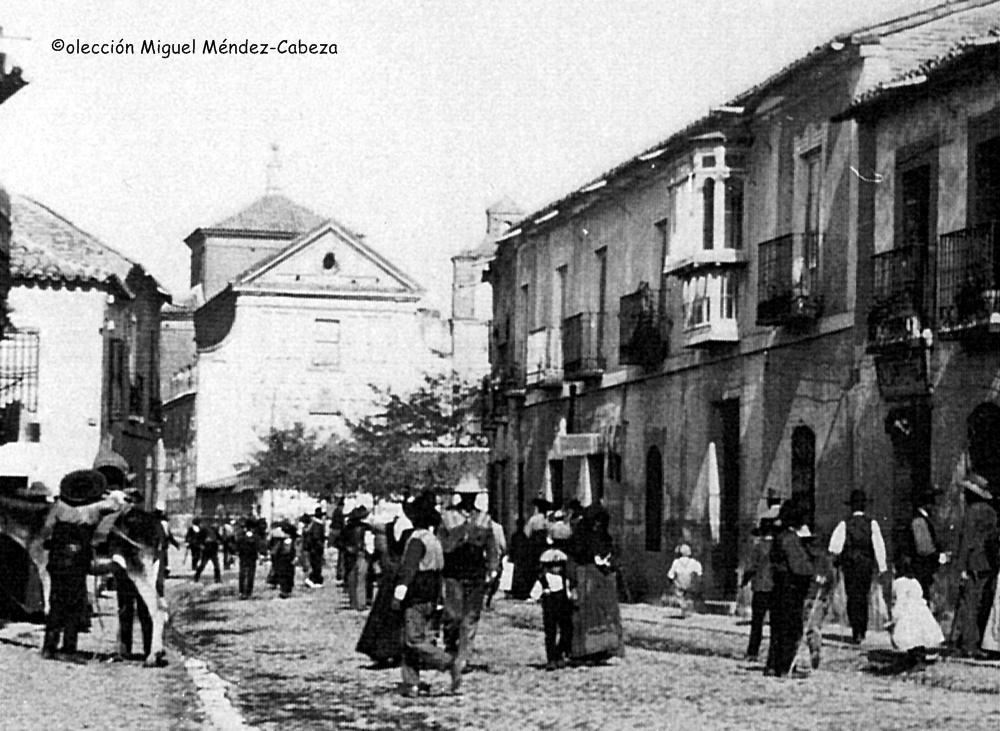 Tipos talaveranos y gentes de la comarca en la época en que se producen los acontecimientos