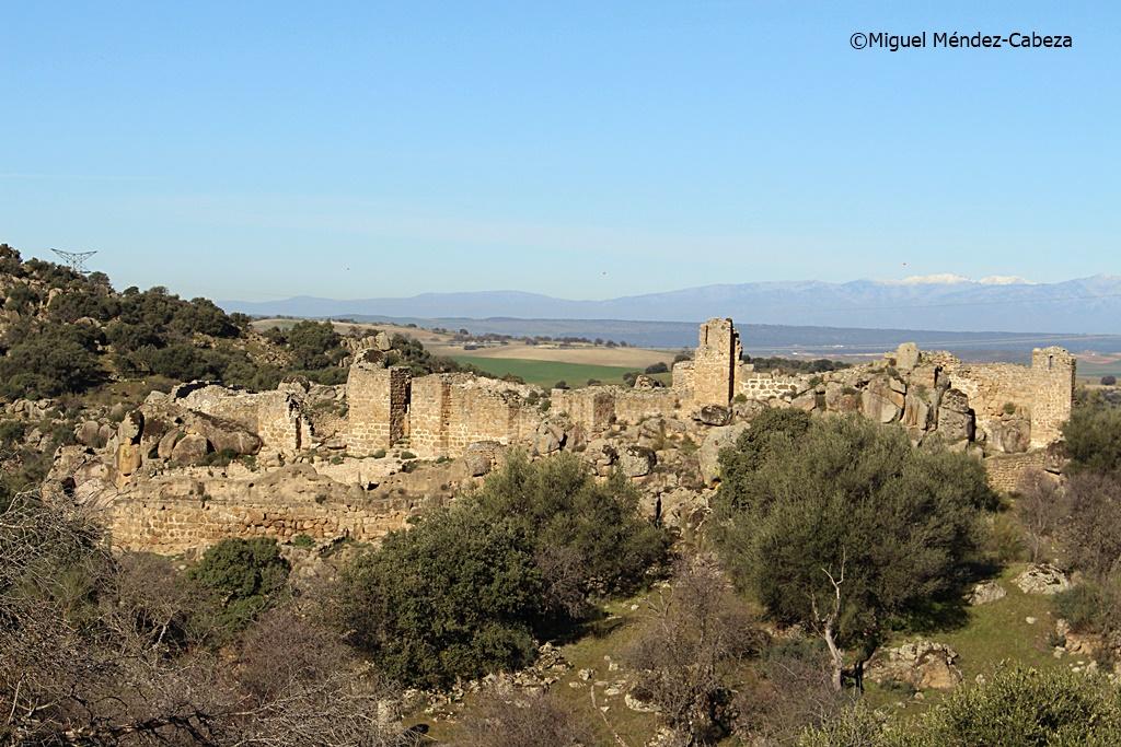 Vista general de la alcazaba de ciudad de Vascos