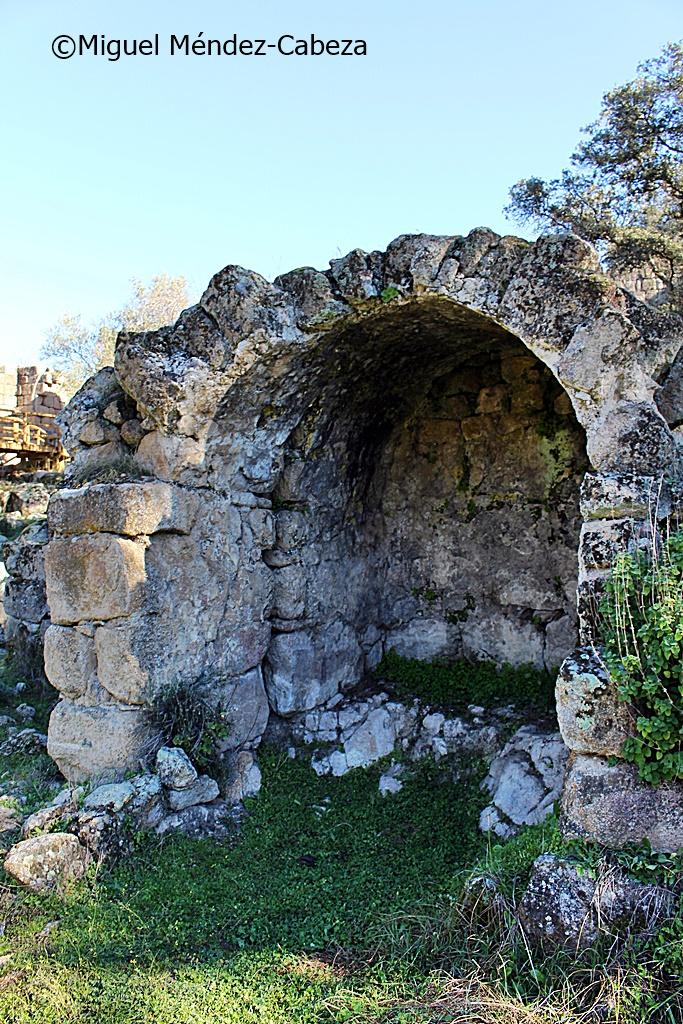 Caldarium del baño de la Mora