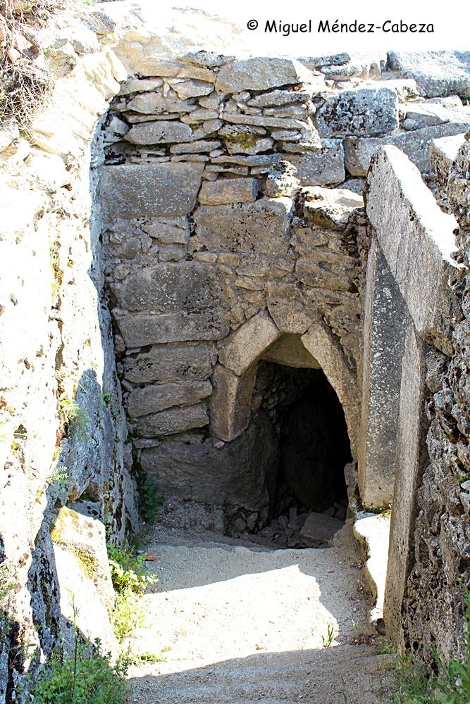 Cueva de los Santos Mártires en el Cerro de San Vicente