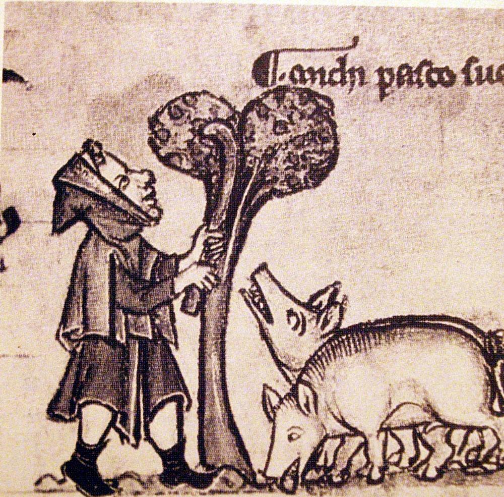 La montonera en la Edad media