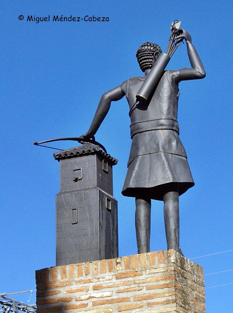 Monummento a los repoblacores medievales en Alcaudete