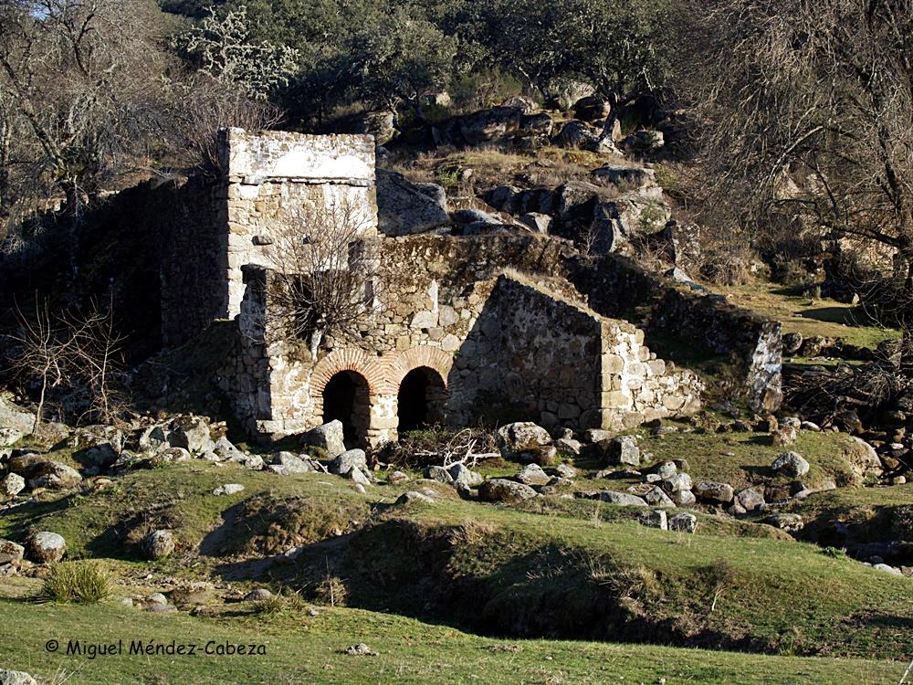Molino en el Guadyerbas por debajo del puente Romano