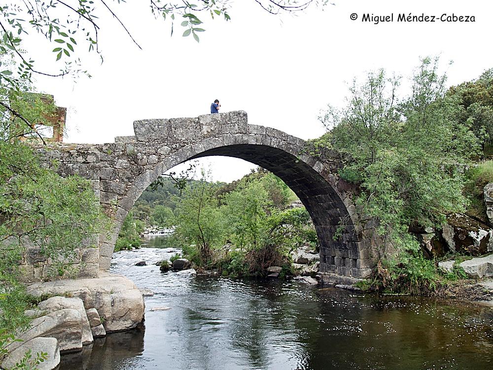 Puente sobre el Tiétar en término de La Iglesuela