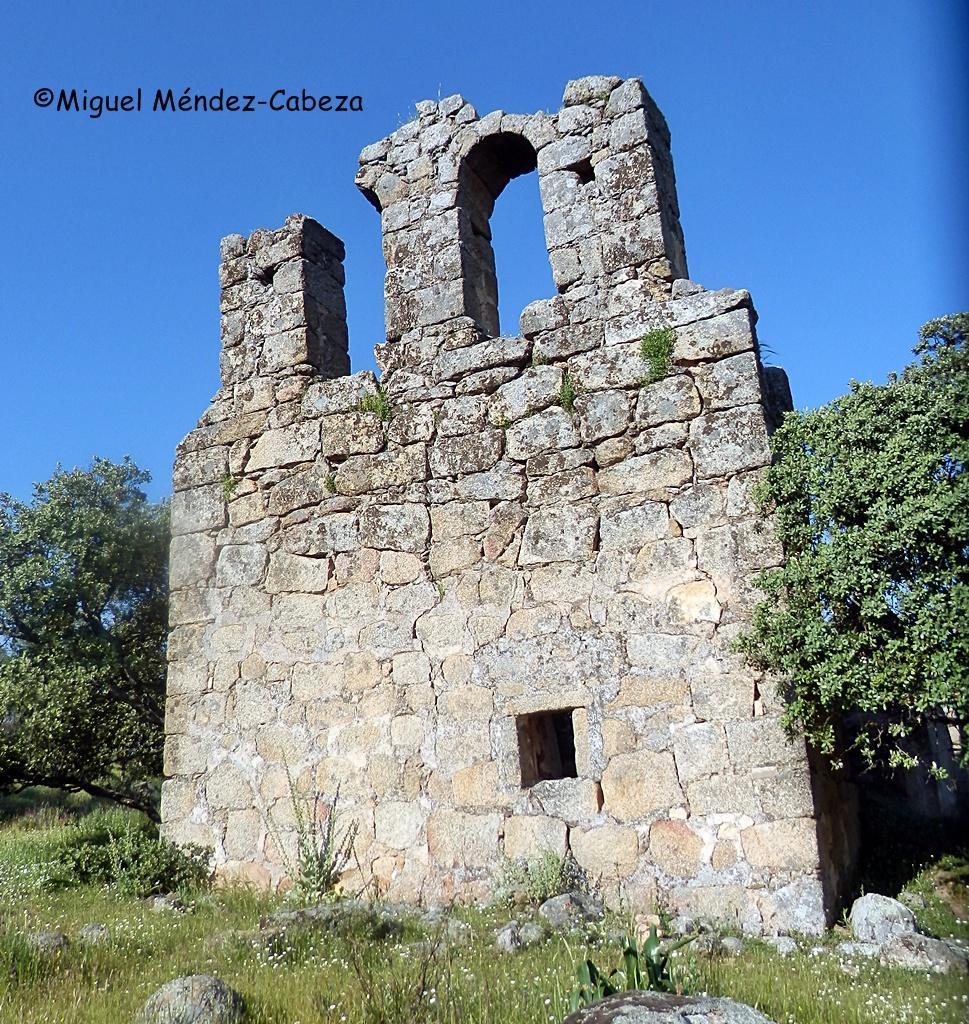 Ermita de la Encarnación en gamonal, antes iglesia del despoblado medieval de Zarzuela