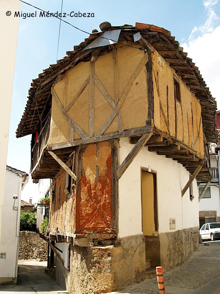 Arquitectura popular de Villanueva de la Vera