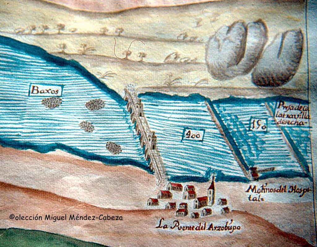 Puente-del-Arzobispo-con-sus-molinos