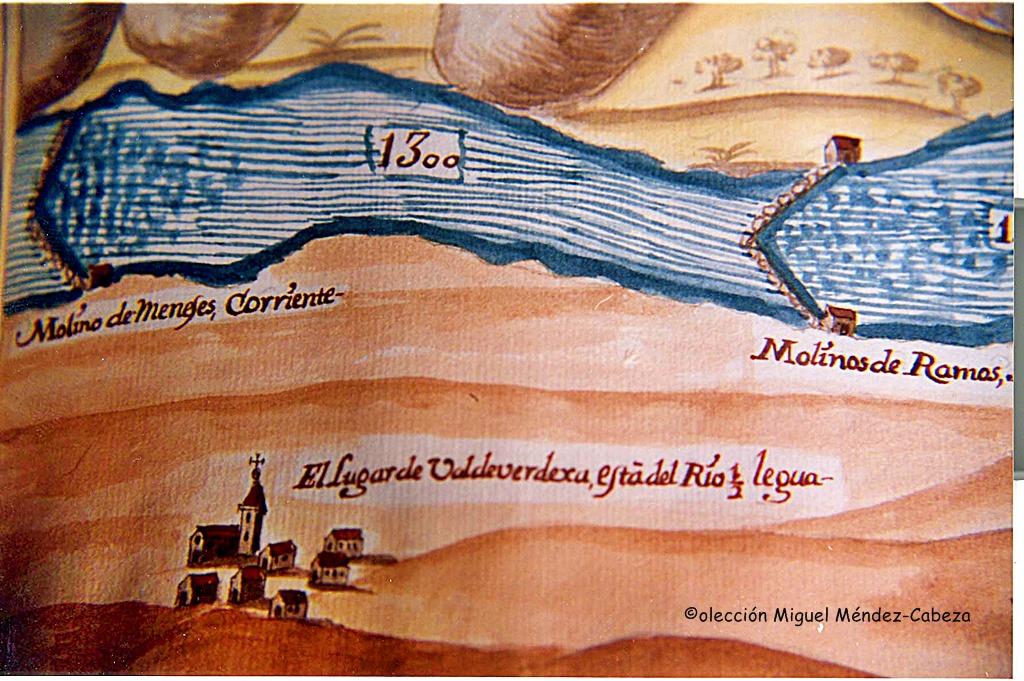 Valdeverdeja-y-algunos-de-sus-molinos-y-acenas-en-el-plan-de-navegacion-de-carducci