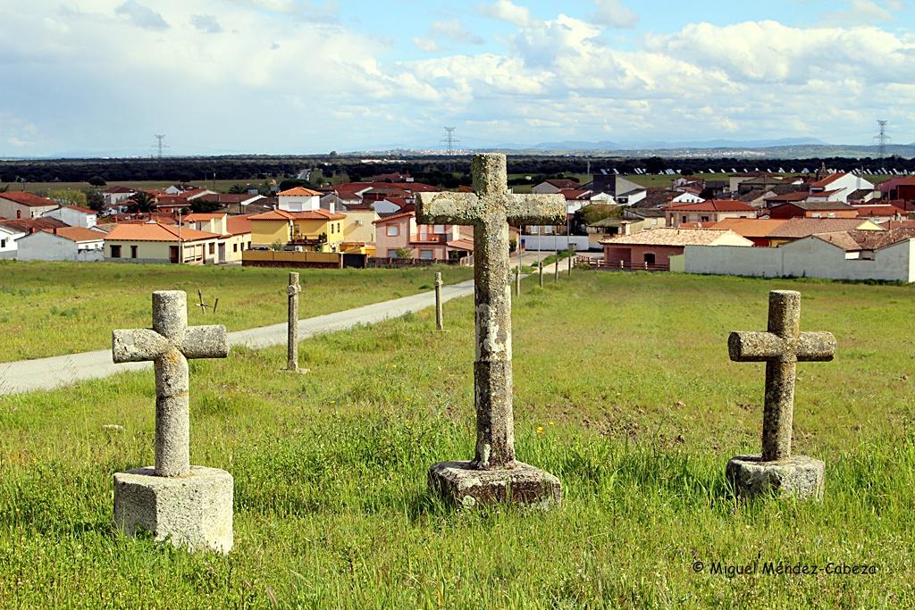 Calvario en el camino del cementerio de Ventas de San Julián