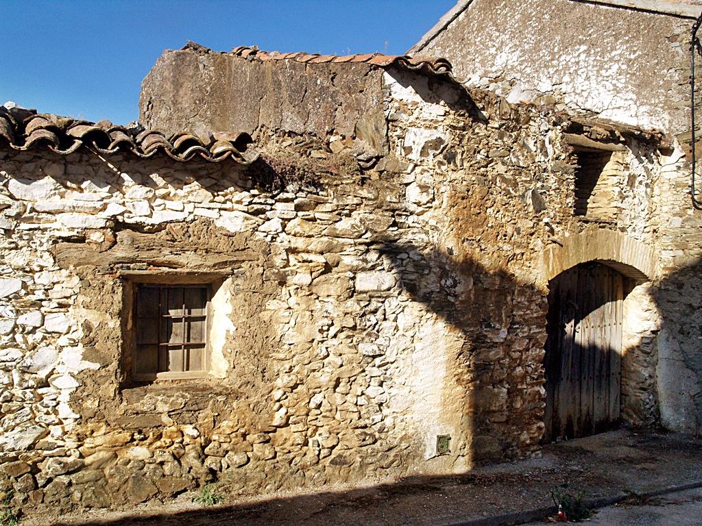 Arquitectura popular jareña en Gargantilla