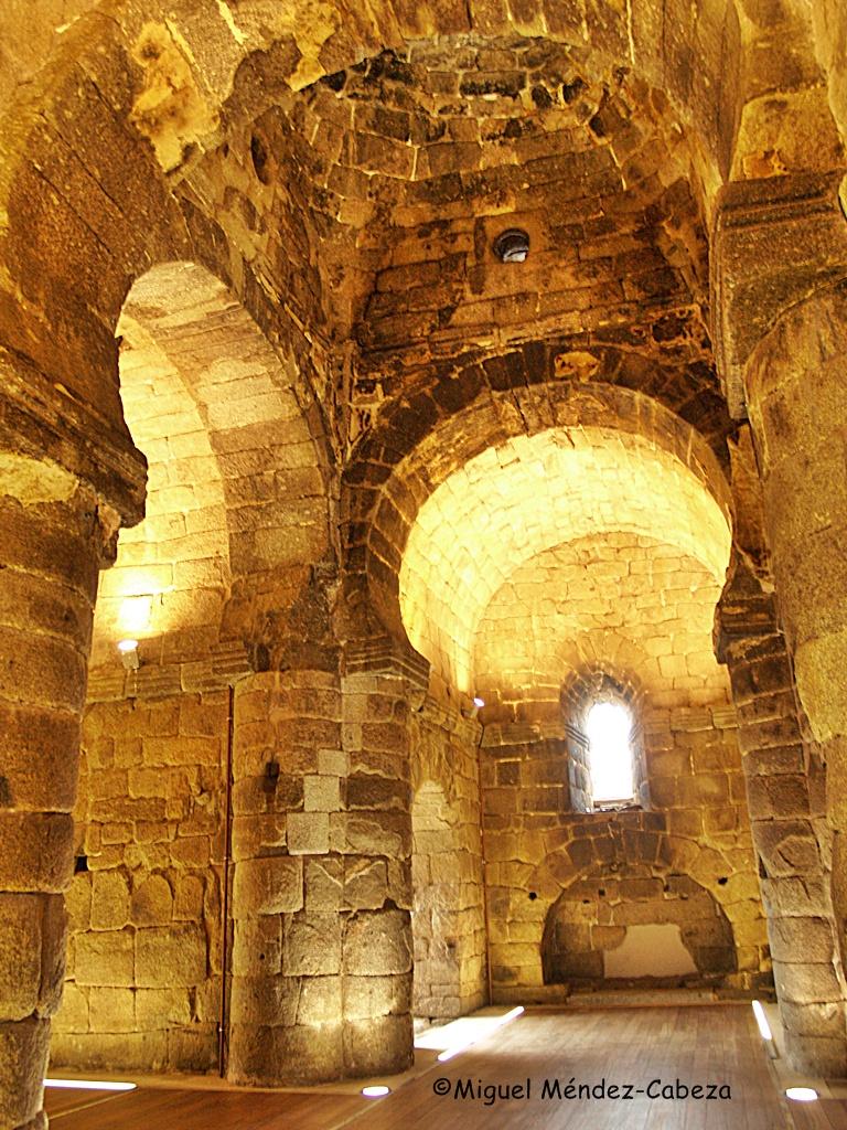 Interior de la iglesia de Melque