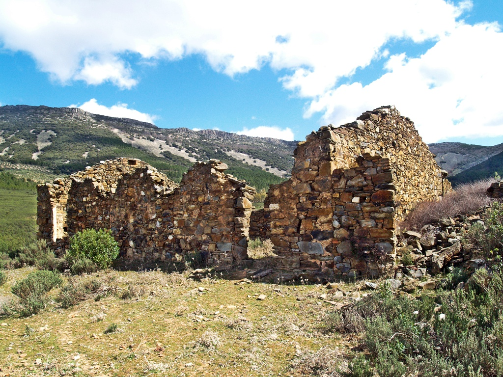 Ruinas de la mina de Antonio en Sevilleja